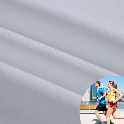 Dri Fit Moisture Wicking Sports Quick Dry Polyester Mesh Jersey Knitted Garment Fabric for T-shirt Sportswear