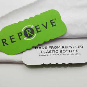 Soft Recycled Repreve Polyester Swimwear Rpet Pet Bottle Mesh Jersey Fabric Made From Recycled Plastic Bottles for T-shirt